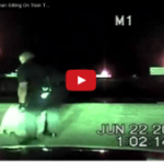 DASHCAM: Texas Cop Rescues Woman Lying on Train Tracks Seconds Before Being Run Over