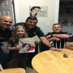 New Jersey Police Buy a 9-year-olds Artwork After Receiving 911 Call on Her