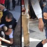 WATCH: 2 Men Intervene to Stop BIG Cop from Smashing In Teen's Face